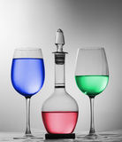 RGB kleur Stock Afbeelding