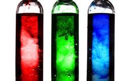 RGB kleuren Royalty-vrije Stock Afbeelding