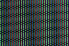 RGB-kleuren van het analoog scherm Stock Foto's