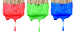 RGB kleurenpallette. Royalty-vrije Stock Afbeeldingen