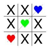 RGB kleurrijke harten van de ticteen vector illustratie