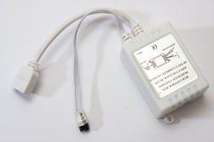 RGB LED小条的控制器 库存图片