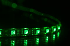 RGB LED Lizenzfreies Stockfoto