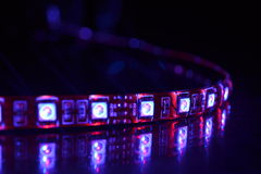 RGB LED Lizenzfreie Stockbilder