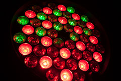RGB LED Imagen de archivo libre de regalías