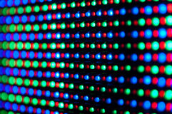 RGB led diode display panel Royalty Free Stock Photo