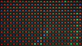 RGB LED Display as Technology Background stock video footage