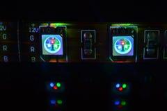 RGB Led. A Flexible RGB LED strip Stock Image