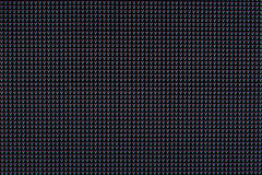 RGB led screen panel texture Royalty Free Stock Photos