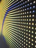 RGB LED. Screen panel texture stock image