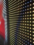 RGB LED screen panel texture Stock Image