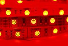 RGB led strip Stock Image