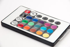 RGB led strip ir remote controler Royalty Free Stock Images