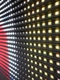 RGB LEDD skärmpaneltextur Arkivfoto