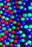 RGB leds Stock Image