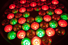 RGB leds Stock Images