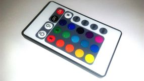 RGB Light remote control. Picture of RGB light remote control Stock Image
