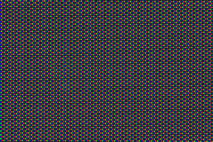 RGB Matrix. Extreme macro shot of a CRT computer monitor Royalty Free Stock Images