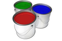 RGB Paint Royalty Free Stock Image