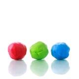 RGB Plasticine Stock Images