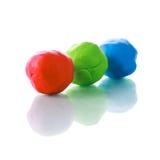 RGB Plasticine Royalty Free Stock Photography