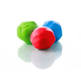 RGB Plasticine Royalty Free Stock Photography