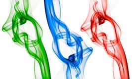 rgb röker royaltyfria bilder