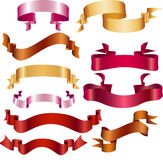 Rgb ribbons Royalty Free Stock Photography