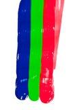 RGB slagen Stock Foto