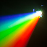 Rgb spectrum color light of projector. Rgb spectrum color light background of projector stock image