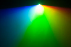 Rgb spectrum light of projector. With copy-space royalty free stock images