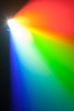 Rgb spectrum light of projector. With copy-space stock photos