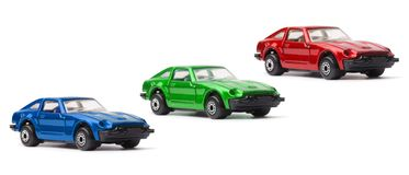 RGB Toy Cars Royalty Free Stock Image