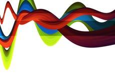 Rgb-Wellen lizenzfreies stockbild