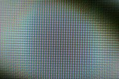 RGB wzór na monitorze Obraz Stock