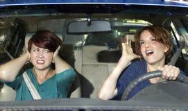 Ärgerlicher Fahrer Lizenzfreies Stockbild