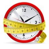 Régime avec le délai. Image stock