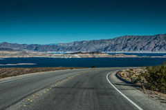 Région de récréation nationale d'hydromel de lac Image stock