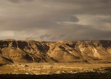 Région sauvage de Judea Images stock
