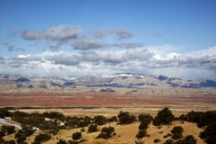 Région sauvage de l'Utah Photos stock