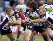 RGL: Rugby League Harlequins Vs Melbourne Storm Stock Photos