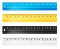 Réguas nos centímetros Imagens de Stock
