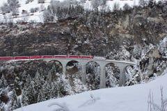 Rhätische Bahn Images libres de droits