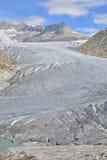 Rhône-Gletscher und Glazial- See Lizenzfreie Stockfotos
