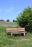 Rhön bench Stock Photography