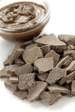 Rhassoul, ghassoul. Moroccan natural clay used by body care Stock Photo