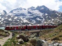 RhB Bernina & x28;1& x29; stock photo