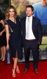 Rhea Durham Mark Wahlberg Arkivfoton