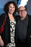 Rhea Perlman,Danny De Vito. Rhea Perlman, Danny DeVito arriving at the Los Angeles Premiere of Avatar Grauman's Chinese Theater Los Angeles, CA December 16, 2009 royalty free stock image