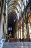 Rheims(Reims) Cathedral Royalty Free Stock Photos